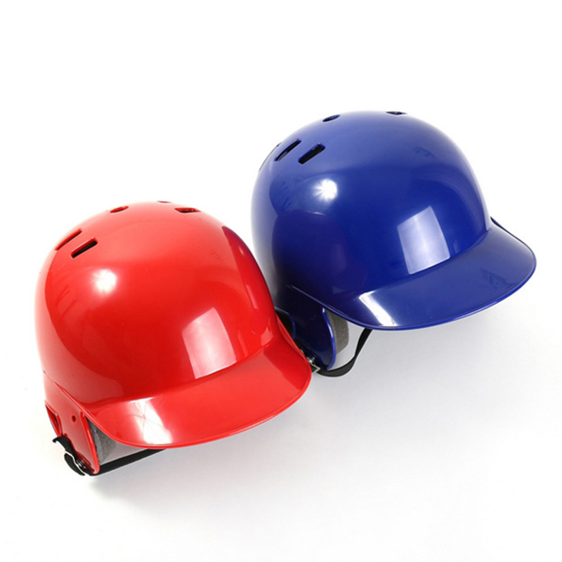 Full Size Black Double Flap Batting Helmet for Baseball//Softball Batters