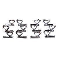 Practical 12 X Card Holder Place Card Holder Wedding Favor Theme Heart Wedding Party Table Display