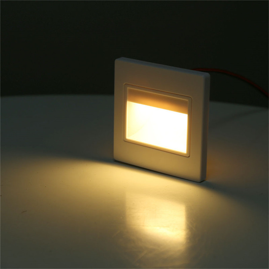 10pcs/lot) LED stair Light Infrared Human Body Induction   Light ... for Wall Foot Light  555kxo