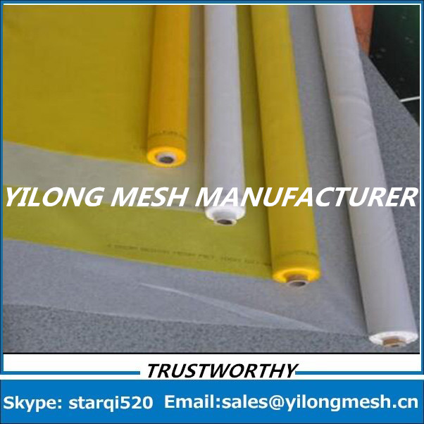 Fast delievery!!! White 47T-55um-145cm-35mts monofilament polyester textile screen printing mesh