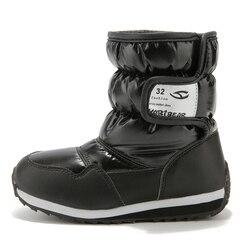 QIUTEXIONG śniegowe buty dla dzieci zimowe buty różowe kamuflaż wodoodporne ciepłe z podszewką ze sztucznego futra buty dziecięce zimowe buty dziewczęce