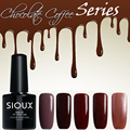 New Coffee Chocolate Series Gel Polish Nail Gel Soak Off UV Gel Polish
