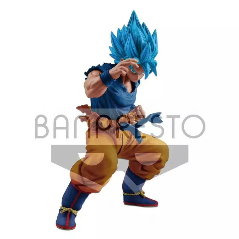 Brettyangel-véritable Banpresto MASTERLISE Dragon Ball SUPER: Broly SUPER SAIYAN dieu SUPER SAIYAN fils GOKU Collection figurine