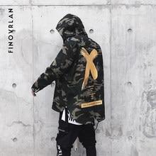 f265e8834b1 High Street Patchwork Camouflage Men Bomber Jacket Coat Autumn Harajuku hip  hop Pilot Flight Biker Jackets Men Streetwear