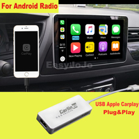 Plug and Play Smart Link Mini USB Apple CarPlay Dongle for Android Navigation Player system Stick with Android Auto