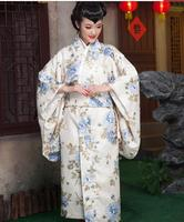 Geisha costume Japanese traditional suits Japanese kimono