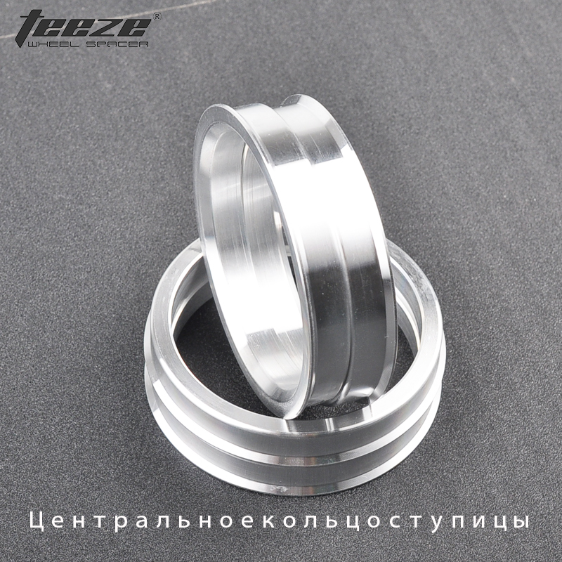 4 Hub Centric Rings Spigot Rings 72.5 mm to 64.1 mm Wheel bore rings for HONDA