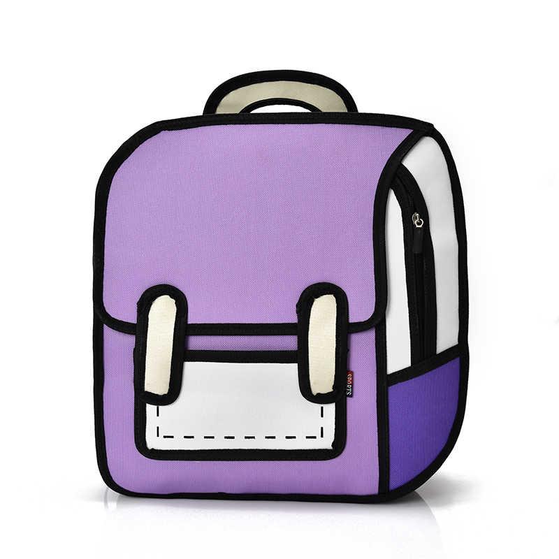 3d рюкзак модные смешные рюкзаки для подростков девочек и мальчиков мультфильм рюкзак комиксы творческие школьные сумки женский рюкзак для холстов