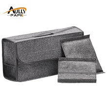 Car Felt Storage Box Trunk Bag Vehicle Tool Box Multi-use Tools Organizer Bag Carpet Folding Automobiles Interior Accessories
