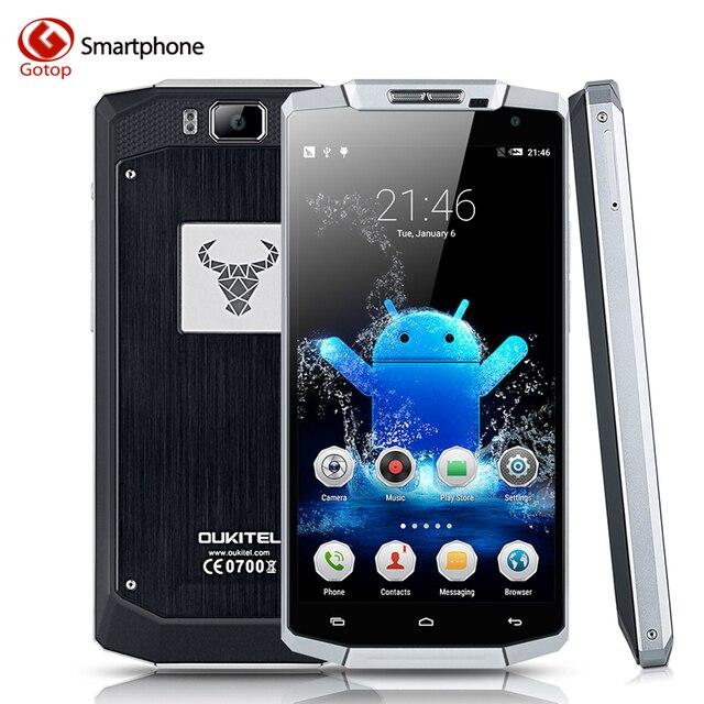 823d1f0195cb6 Оригинальный 10000 мАч Батарея супер-большой емкости Oukitel K10000 смартфон  Android 5.1 Lollipop 5.5 дюйма
