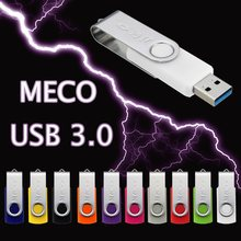 Meco Multi Color USB3.0 Flash Drive 64GB Disk Super Mini Pen Drive Tiny Pendrive Memory Stick Storage Device U Disk
