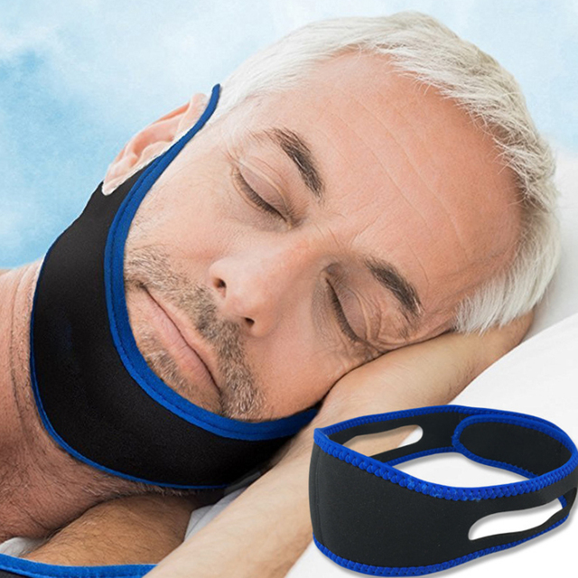 Anti-mite headband sleep mask snoring belt snoring protection jaw dislocation support belt health care tools gifts hot sale hot