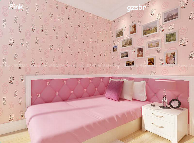 Blue Light Yellow Pink Wall Papers Wallpaper Kids Papel De Parede For Walls Pattern Damask Paper Roll Wallcoverings In Wallpapers From Home Improvement