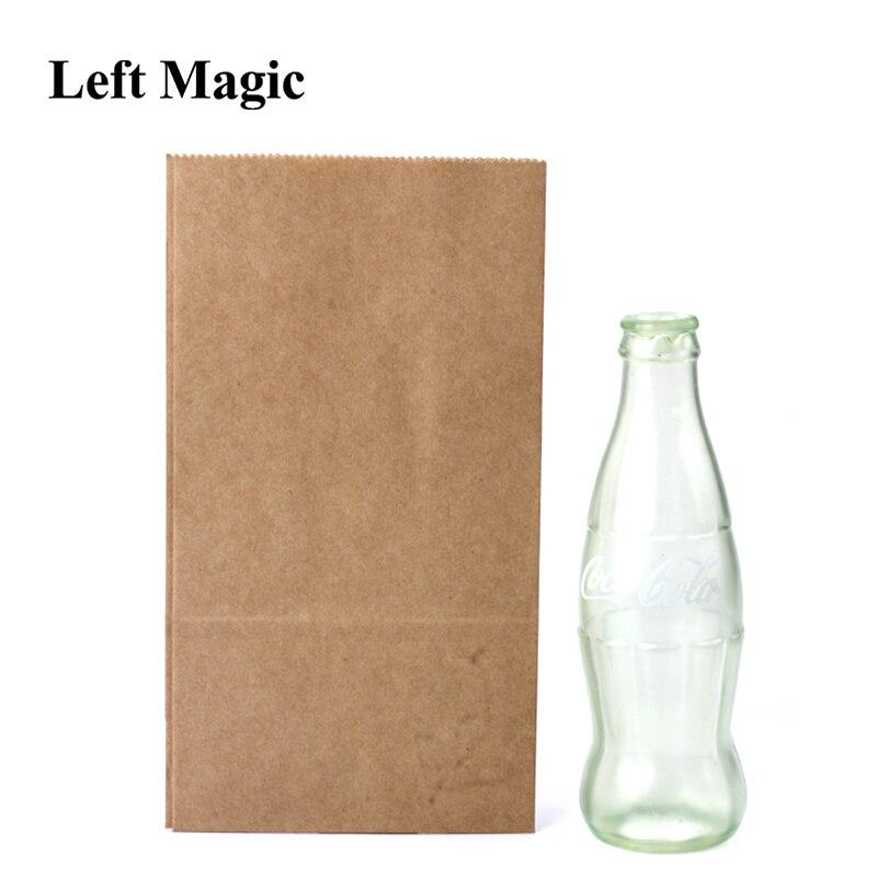 Botella Cole vacía magia trucos Coke etapa Primer plano ilusión accesorios mentalismo diversión magia accesorios clásico juguete Gimmick