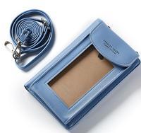 Shoulder Belt Touch Screen Mobile Phone PU Case For HTC 10 Evo 10 Lifestyle U11 U11