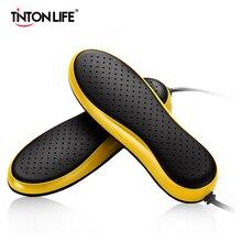TINTON חיים 220V האיחוד האירופי Plug נייד חשמלי נעל מייבש Deodorizate עיקור Dehumidificate נעלי אפוי מייבש