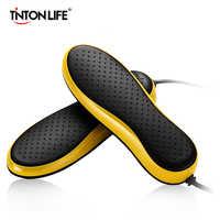Tinton vida 220 v secador de sapato elétrico portátil desodorizar esterilização desumidificar sapatos assados secador
