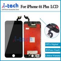 グレードaaa + + + 10ピース/ロット用iphone 6s plus液晶画面の交換ディスプレイで3d力タッチ送料無料
