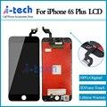 Grade aaa +++ 10 pçs/lote para iphone 6 s plus screen display lcd de substituição com força 3d toque frete grátis