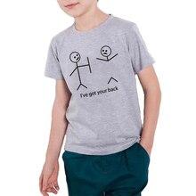 16b0b9d165 EnjoytheSpirit Kids T-shirt Funny Printed I've Got Your Back Child Tshirt  Summer