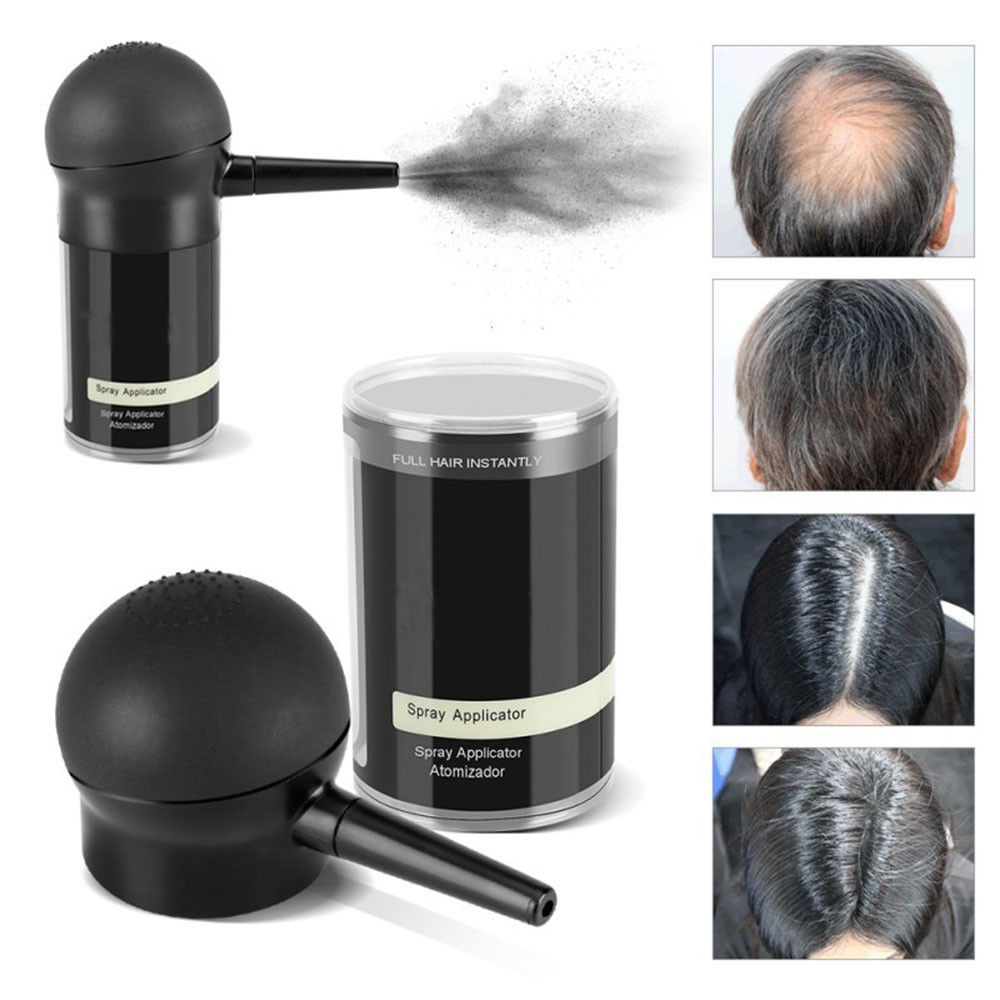 Hair Styling Applicator Spray Hair Fiber Pump For Hair Building Fibers Bottle Fix Suit For 12g/25g/27.5g