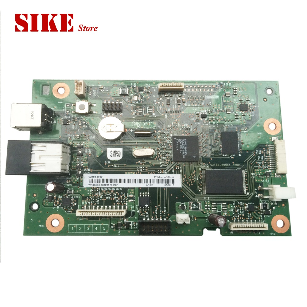 CZ183-60001 Logic Main Board Use For HP M127fn M128fn M128fw M127 M128 127fn 128fw 128 127 Formatter Board Mainboard free shipping formatter board for hp laserjet pro mfp m127fn m128fn m127fw m128fw cz181 60001 cz183 60001 print part on sale