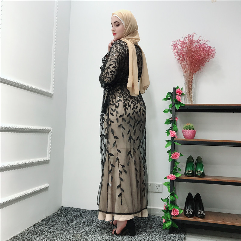 Embroidery Abaya Long