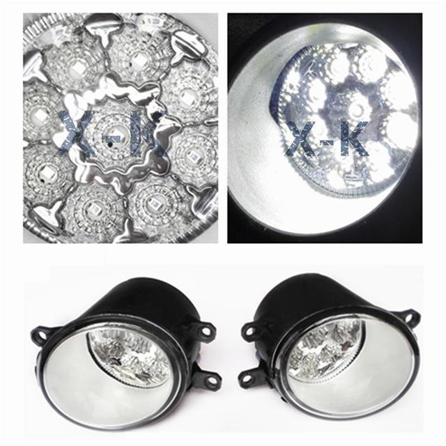 Для TOYOTA Highlander 2009 - 2011 - стайлинг из светодиодов светодиоды DRL противотуманные фары