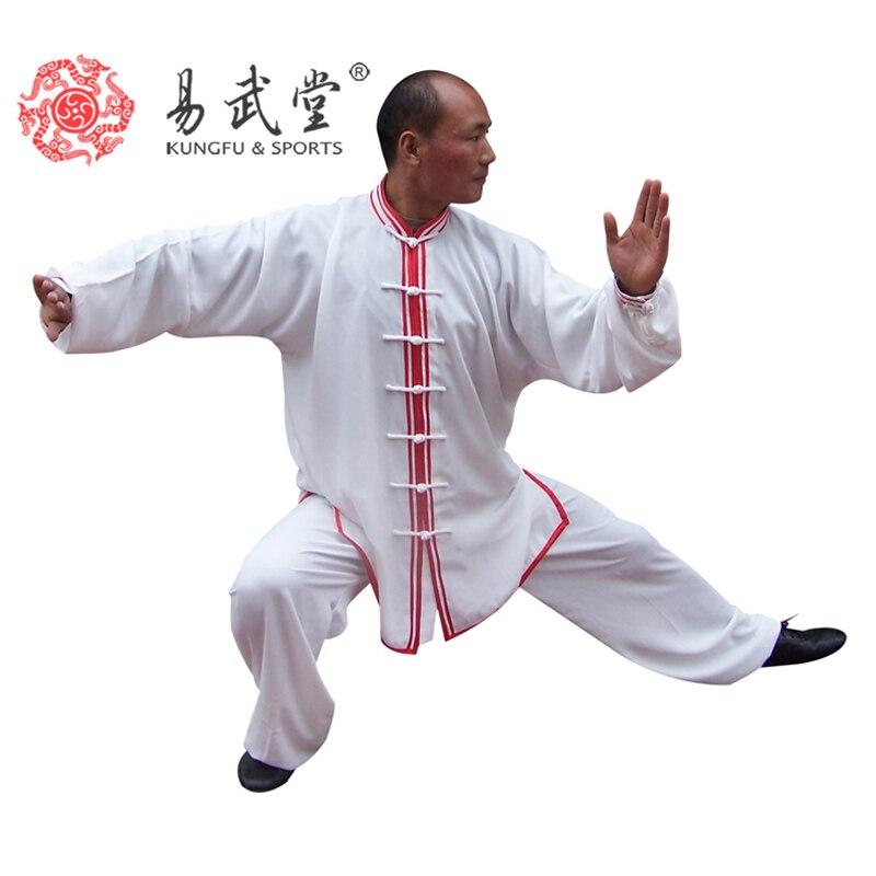 Костюм кунг-фу тай-чи, униформа и одежда ушу, для занятий единоборством или униформы таицзикуана для мужчин и женщин