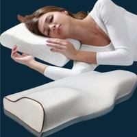 Ergonomic Support Cushion with Butterfly Wings Shape Sleep Pillow Memory Foam Eyelash Extension Lash to Relieve Pain
