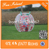 Free Shipping 1.0mm TPU 1m Diameter Bubble Football Sport Games/ Bubble Ball Funny Zorb Ball For Selling