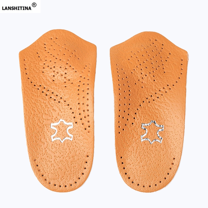 Leather Shoes Insoles Pads Arch Support Orthopedic Insoles Heel Inserts Shoe Liners Steunzolen Schuheinlagen Palmilhas Zooltjes breathable shoe pad orthopedic insoles flat foot arch support insoles deodorant shoes insoles pads palmilha accessoire chaussure