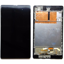 high quality  for ASUS MEMO PAD 7 ME572CL ME572  LCD Display Digitizer+TOUCH SCREEN with frame