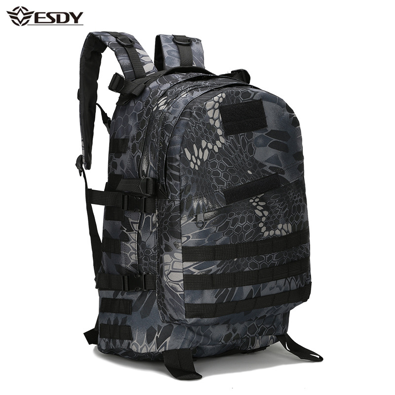 40L 3D Outdoor Sport Military Tactical climbing mountaineering Backpack Camping Hiking Trekking Rucksack Travel outdoor Bag 40l tactical military backpack molle camouflage travel outdoor sports 3d tactical travel waterproof high quality nylon rucksack