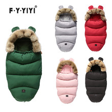 New Winter Autumn Baby Sleeping Bag Warm Stroller Sleepsacks Robe For Infant wheelchair Waterproof Footmuff Newborn-36month thick baby stroller sleeping bag winter warm newborn foot cover infant windproof sleep bag stroller sleepsacks pram cushion