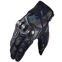 VEMAR Summer Motorcycle gloves leather Motocross racing glove Guantes Moto mesh cloth glove men womens Luvas Motociclista