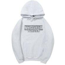 The Newest Season Stranger Things Same Of Hoodie Men Women 100% Cotton Mens Hoodies And Sweatshirts Autumn Winter Warm Hoody