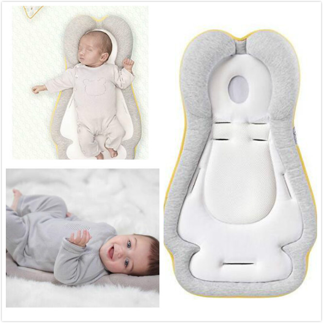 Baby Stereotypes Pillow-0-12 Months Head Qualitative Pillow Infant Positioning Latex Pillow Newborn Sleeping Pillow