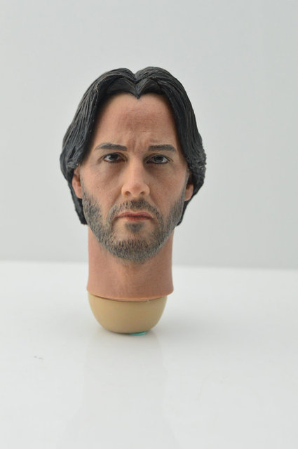 Eleven 16 Scale Keanu Reeves John Wick Head Sculpt For Hot Toys