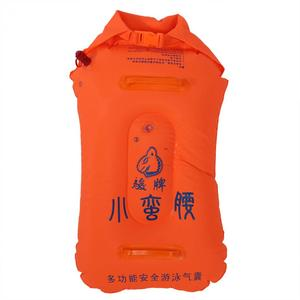 Bolsa de almacenamiento de flotador de aire inflable para natación, boya salvavidas, bolsa inflable Manual para adultos, bolsa seca de flotador para surf de esnórquel