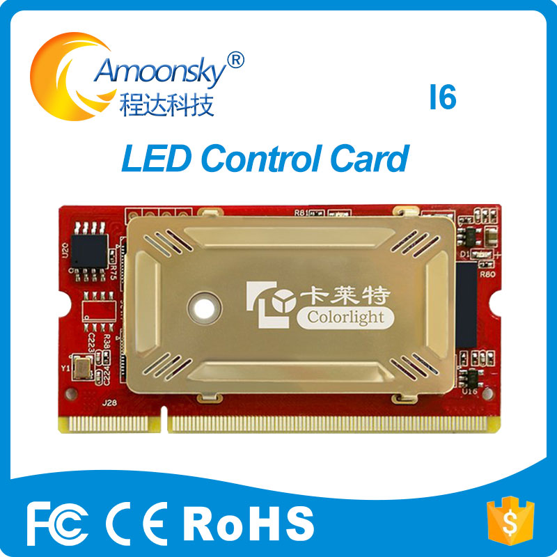 Colorlight I6 Led Receiver Card For Full Color Led Display Matched With S2 S4 Video Sender