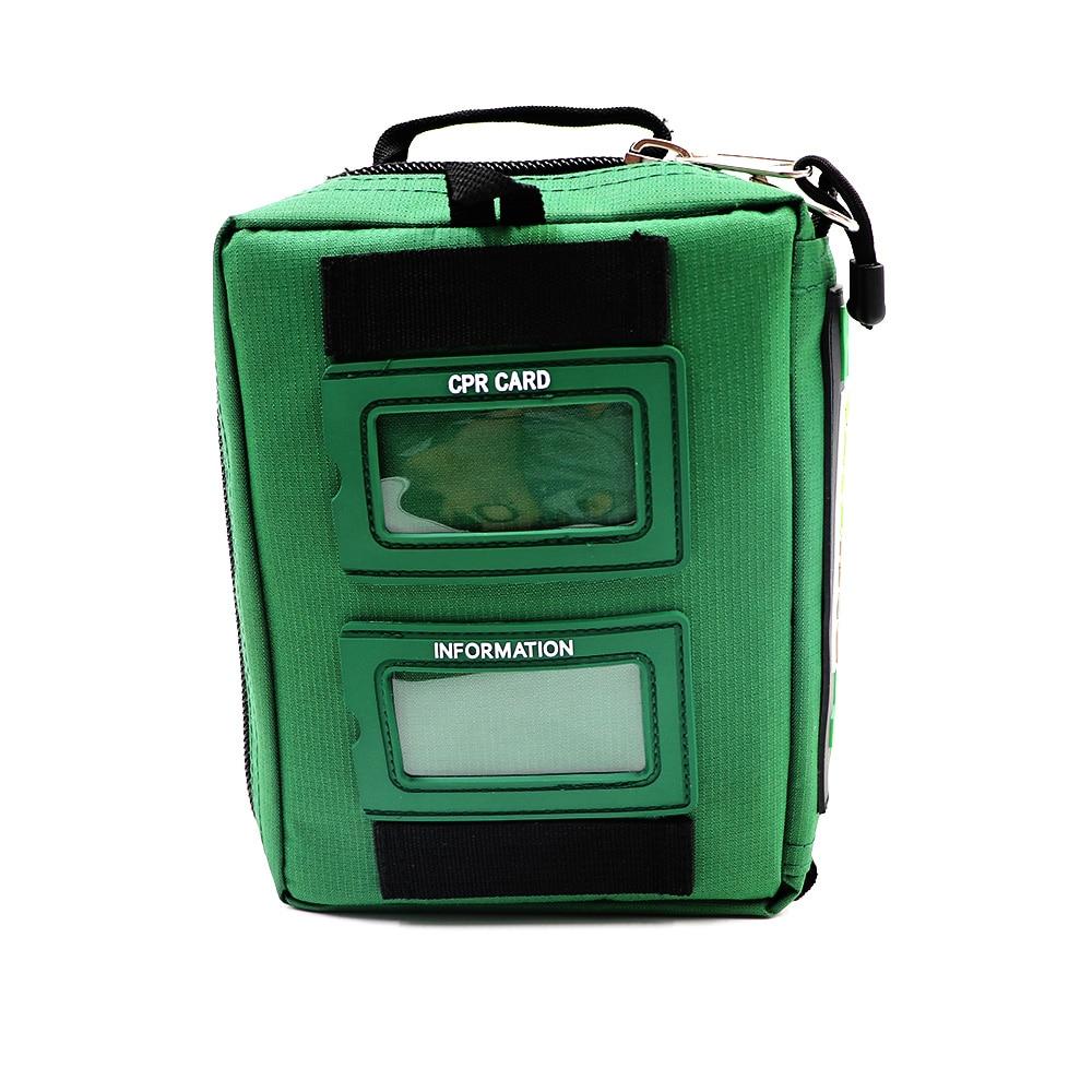 Купить с кэшбэком Handy Empty First Aid Bag Medical Emergency Bag Compact Lightweight First Aid Kit for Home Outdoor Travel Hiking Camping School