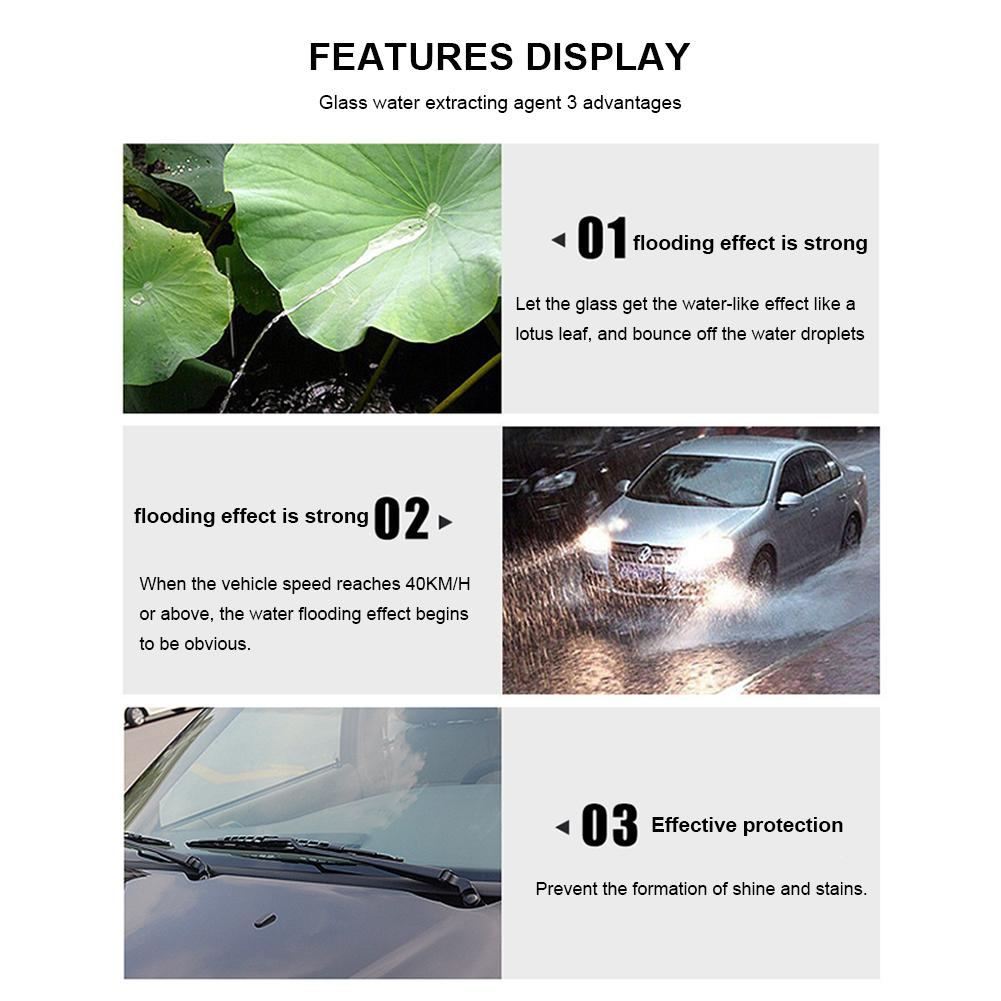 Image 3 - Car Automobile Front Windshield Antifogging Agent For Interior Use Long   Term Anti   Fog Rain Defogging Agent-in Paint Protective Foil from Automobiles & Motorcycles