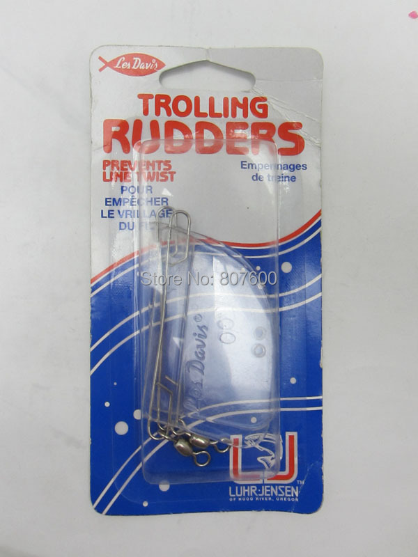 BassLegend - 1 Set Fishing Plastic Trolling Rudder