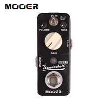MOOER ThunderBall Bass  2 Working Modes: Fuzz/Dist Guitar effect pedal