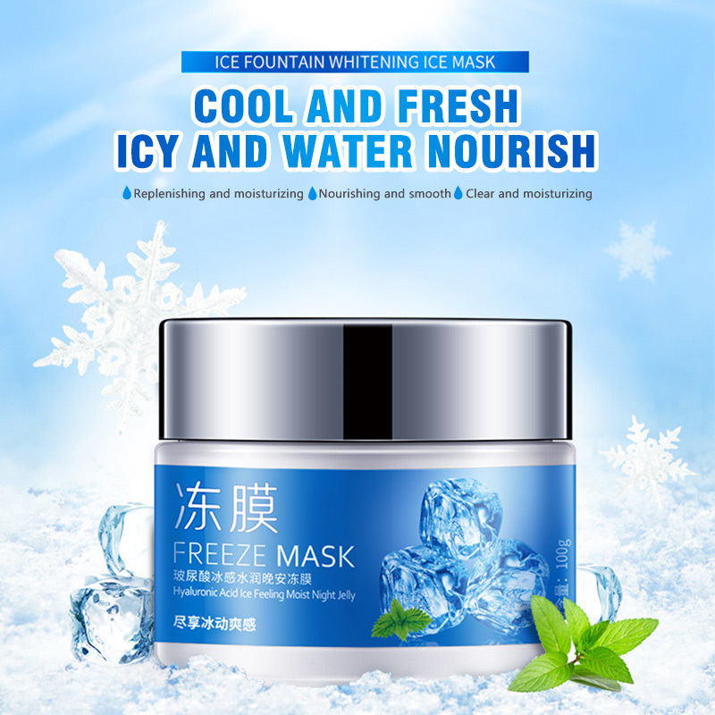Freeze facial moisturizer