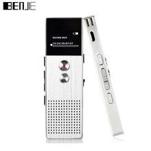 Benjie original c6 reproductor de música mp3 de audio profesional grabadora de 8 gb de metal de voz perseguidor negocio portátil grabadora de voz digital
