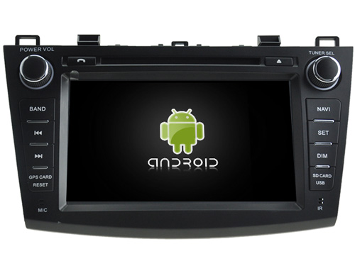 Android CAR Audio DVD player gps FOR MAZDA 3 2010 2011 Multimedia navigation head device unit
