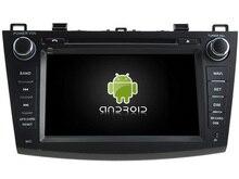 Android CAR Audio reproductor de DVD gps PARA MAZDA 3 2010-2011 cabeza de navegación Multimedia unidad dispositivo receptor