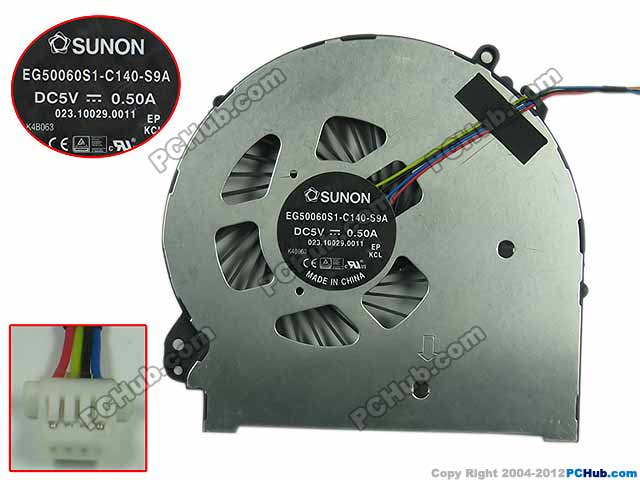 Free Shipping For SUNON EG50060S1-C140-S9A DC 5V 0.50A 4-Wire 4-Pin Server Laptop Fan free shipping for sunon eg50040v1 c06c s9a dc 5v 2 00w 8 wire 8 pin server laptop fan